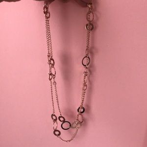 Beautiful rose gold layering necklace by Park Lane